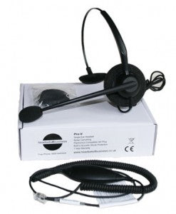 Streamline ProV 1 ear headset with headset cable