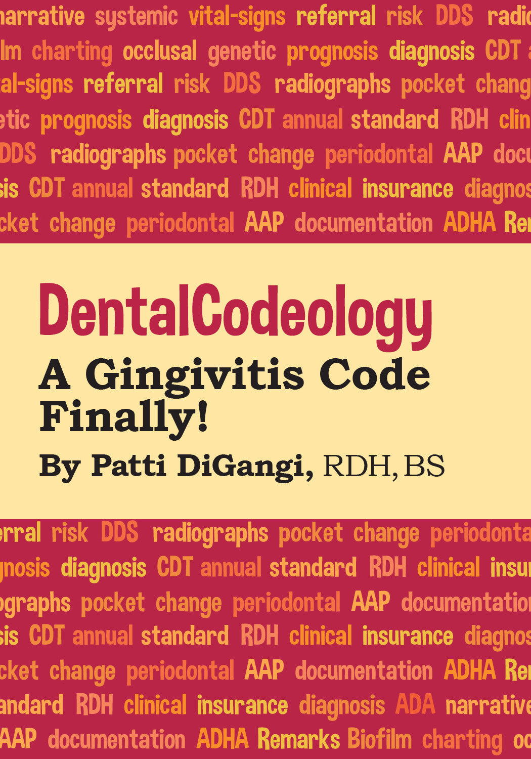 Gingivitis Code Finally! Print Mini-book