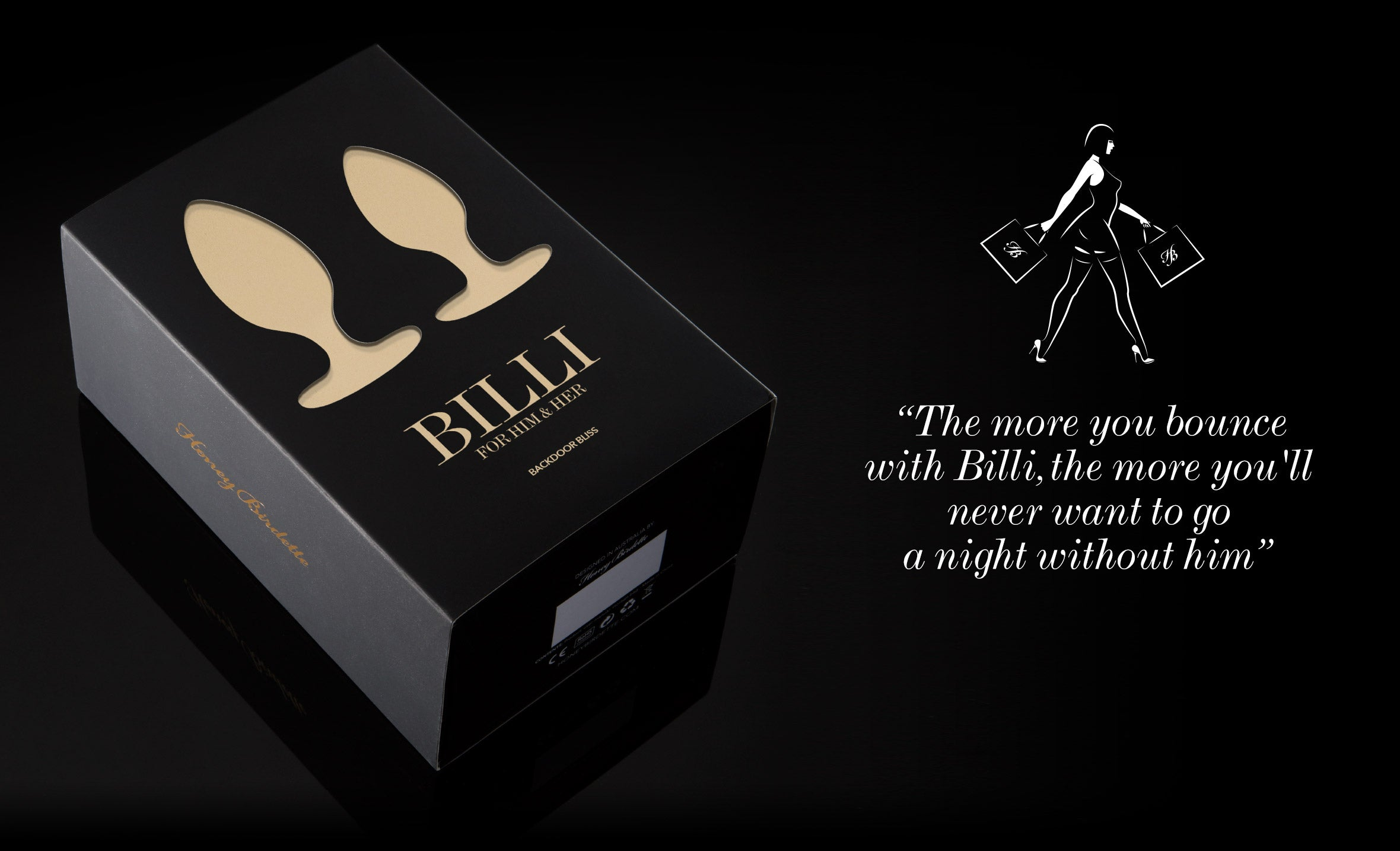 Billi packaging image | Honey Birdette