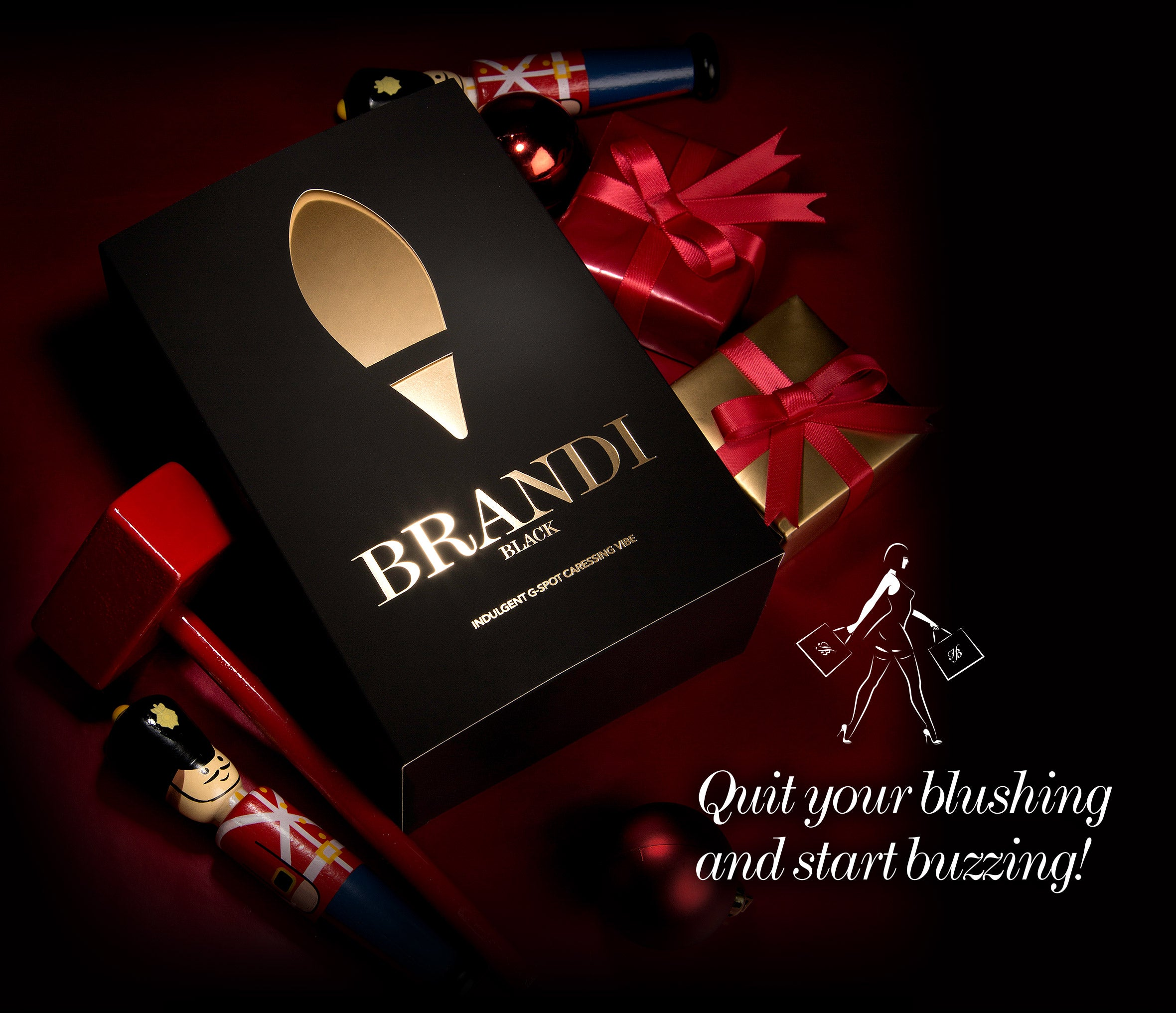 Brandi Vibrating Egg Packaging Image - Womens Sex Toys | Honey Birdette Australia
