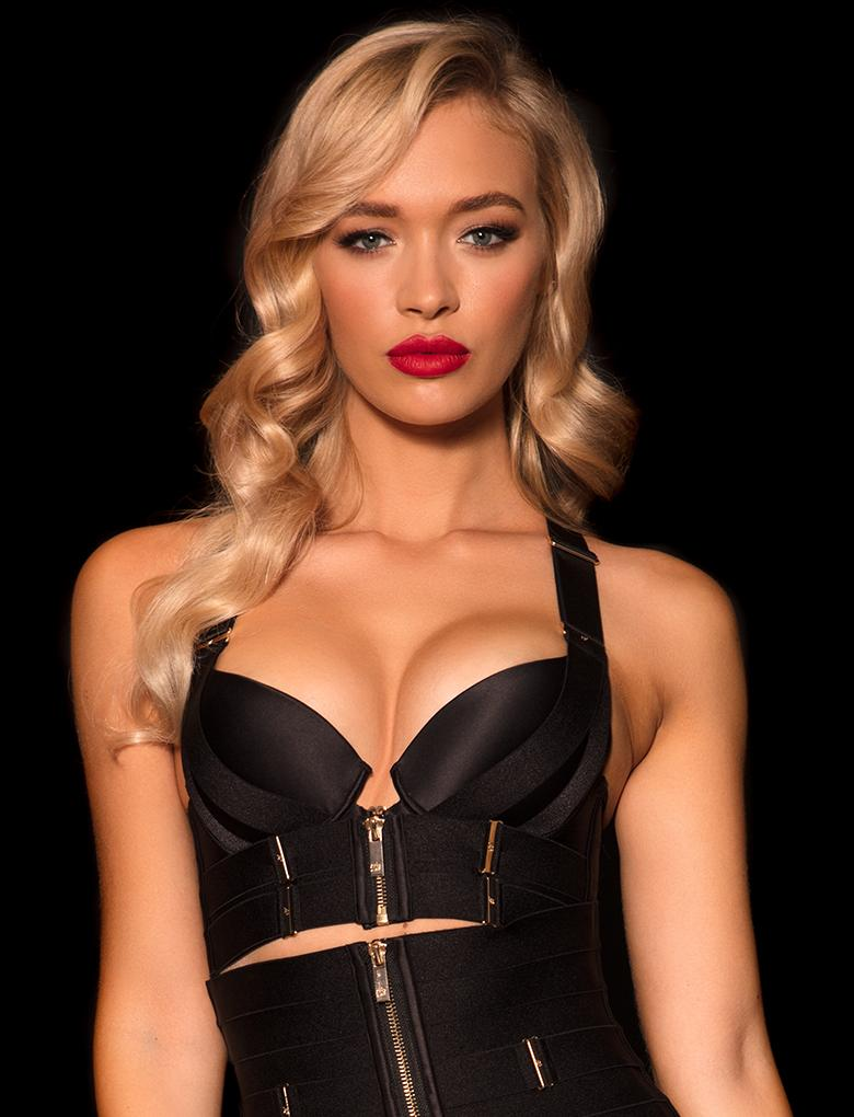 Shop Blair Black Push Up Bra | Honey Birdette
