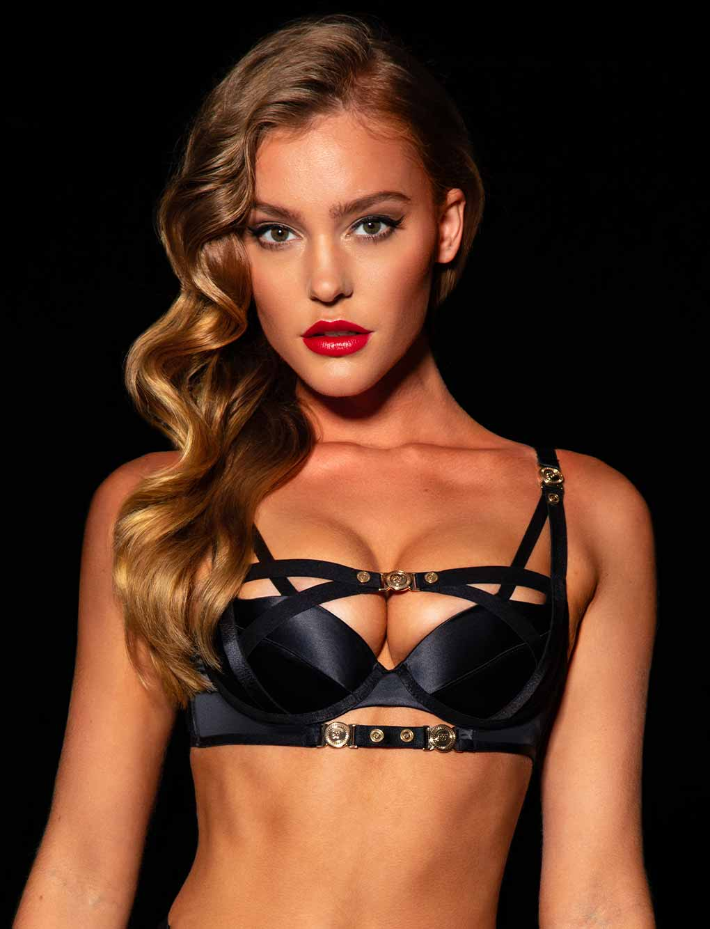 Cole Black Bra | Shop Bras & Lingerie | Honey Birdette