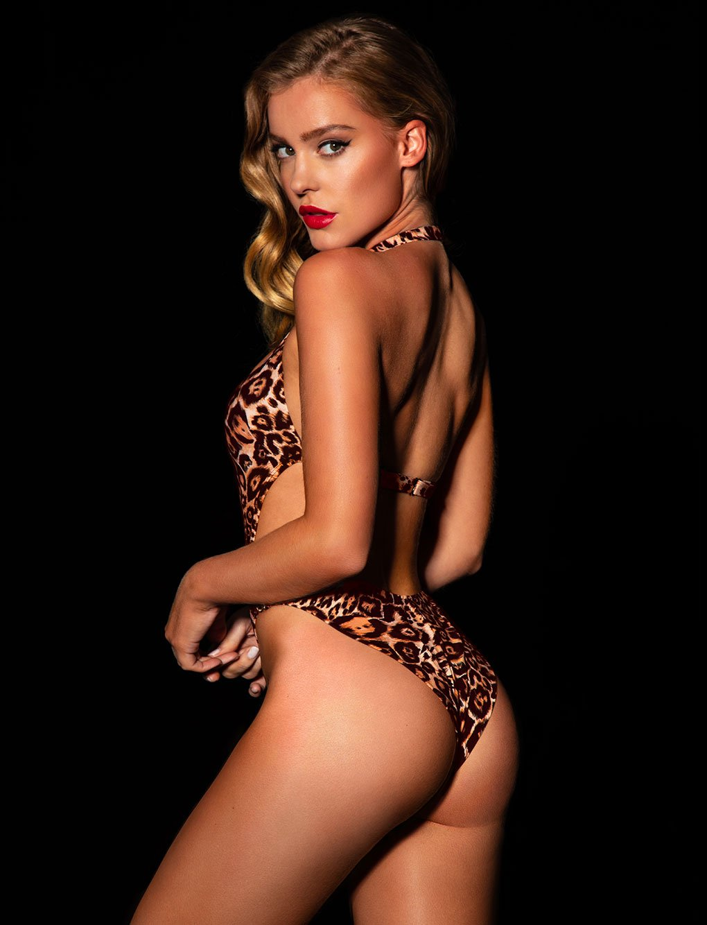 Dakota Leopard Swimsuit | Shop Swimwear | Honey Birdette