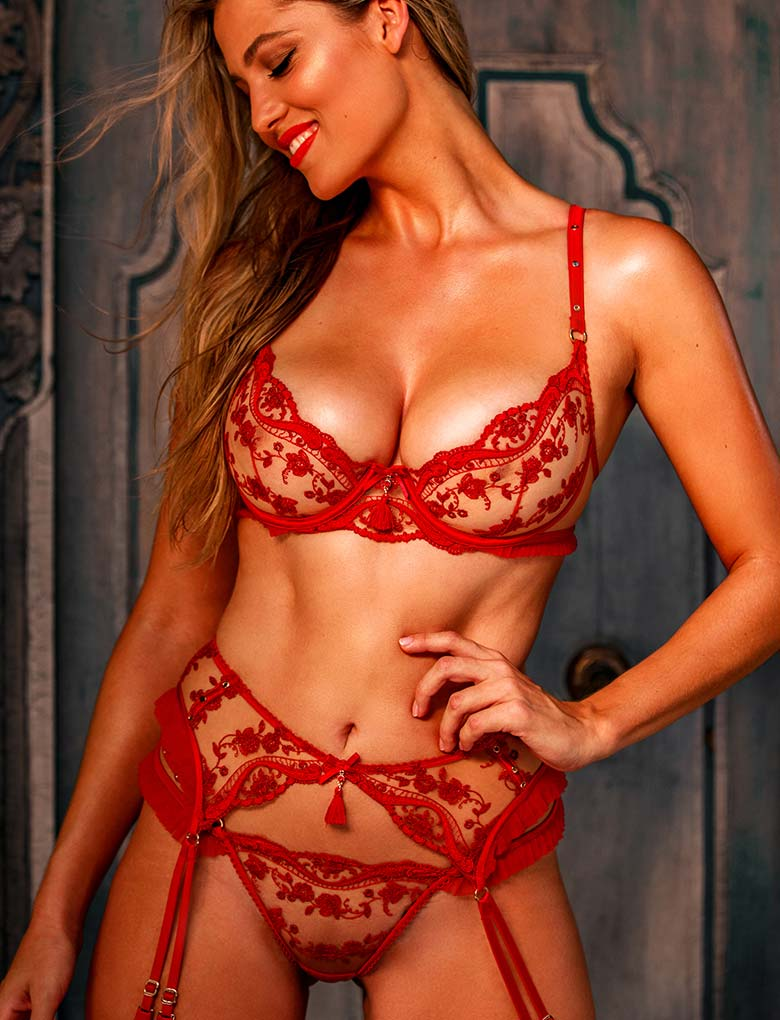 Frida Lace Lingerie Set - Shop Lingerie | Honey Birdette