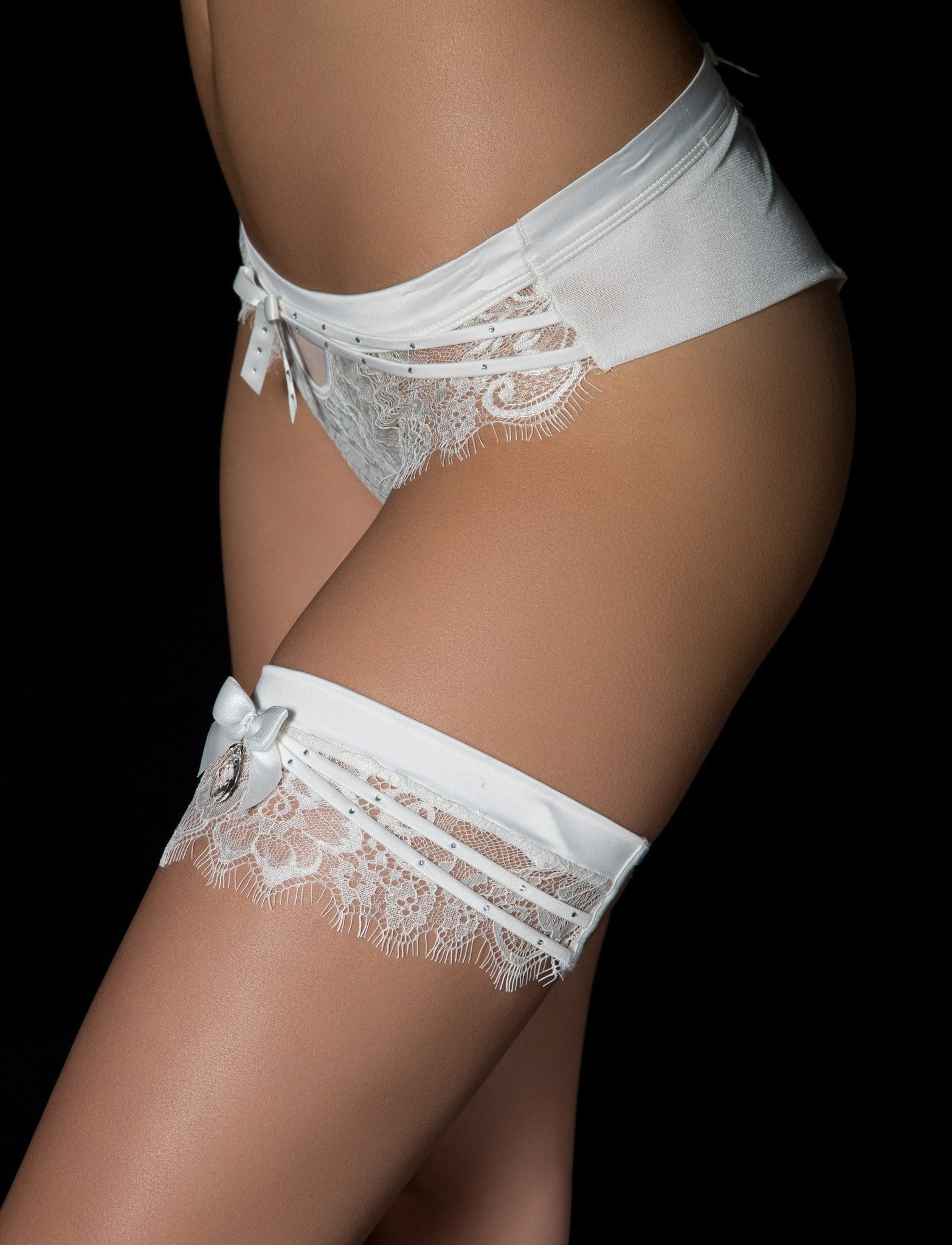 Madame Lace Bridal Garter - Accessories - Honey Birdette Australia
