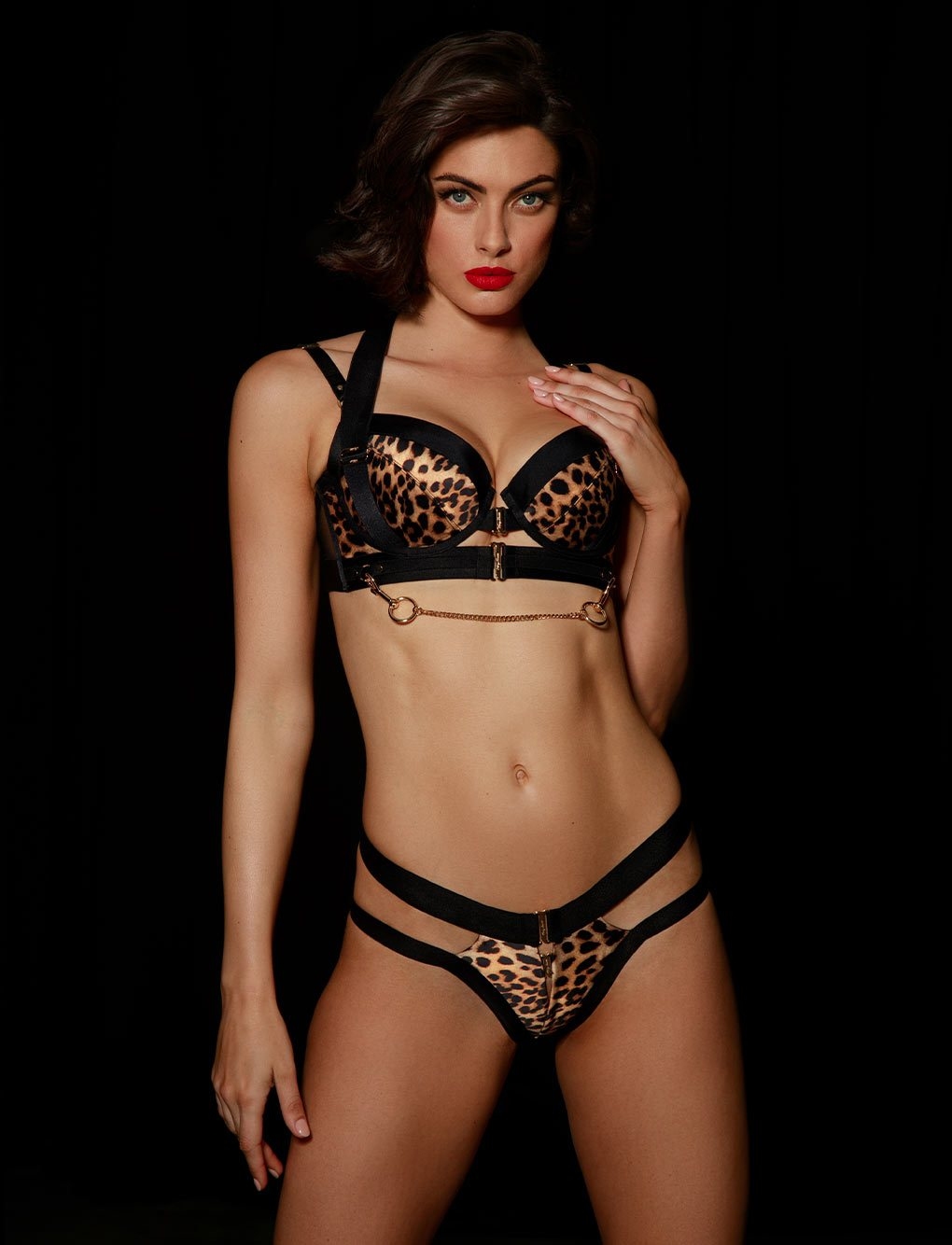 Kukuro Lingerie Set | Shop  Lingerie Honey Birdette