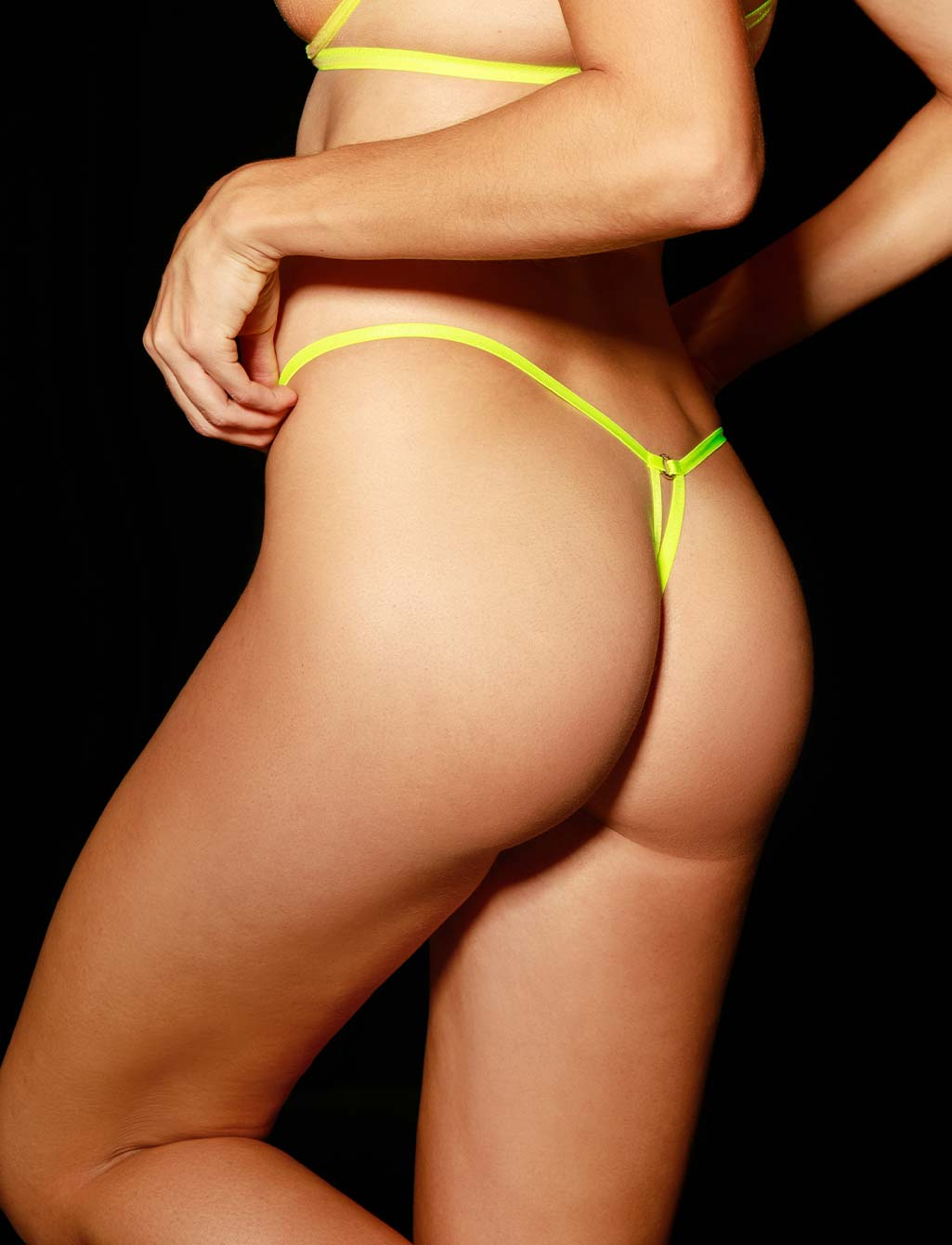 Lyndl Neon Thong G String - Shop Lingerie | Honey Birdette