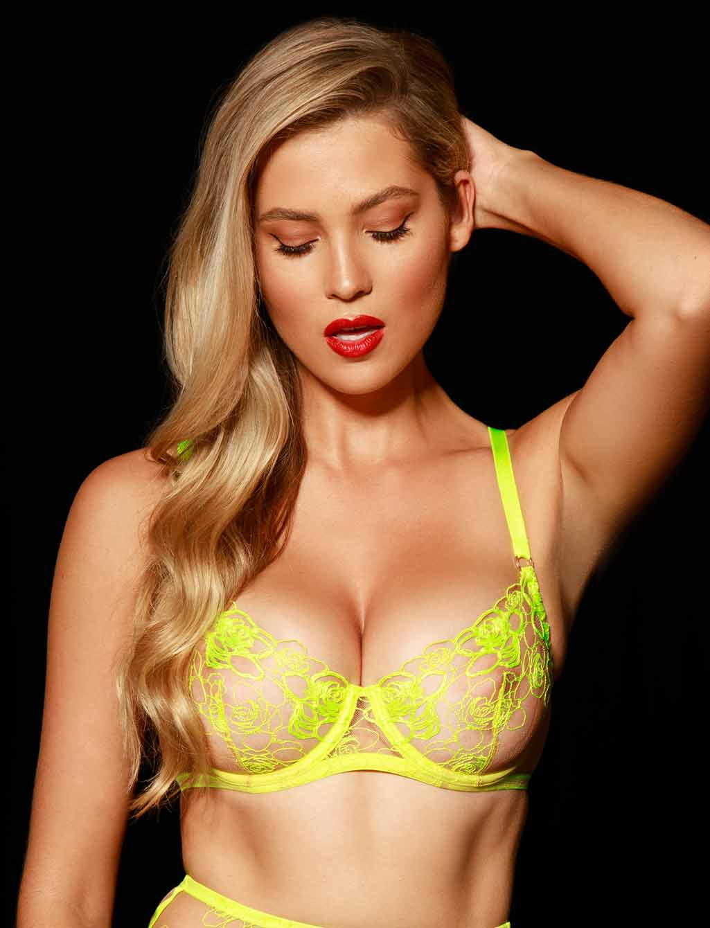 Lyndl Neon Underwire Bra - Shop Lingerie | Honey Birdette