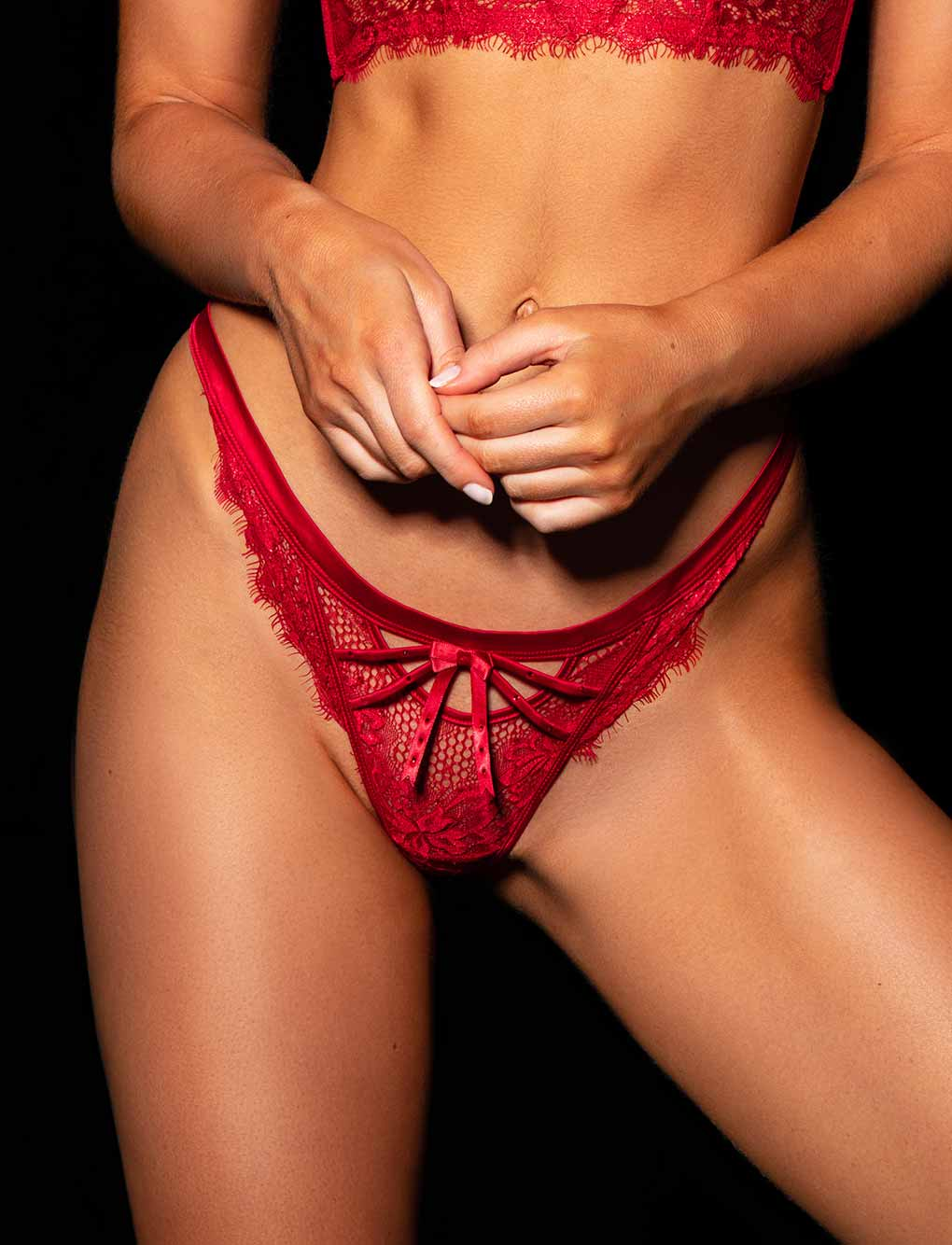 Madame Red Thong
