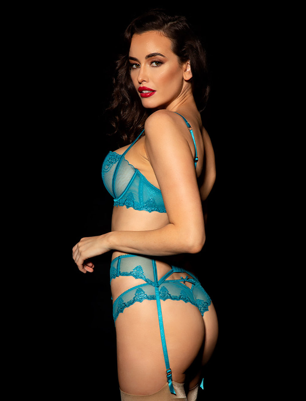 Natalie Teal 3 Piece Set