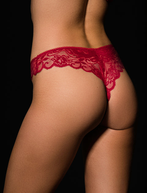 Red Perla Vibrating Panty
