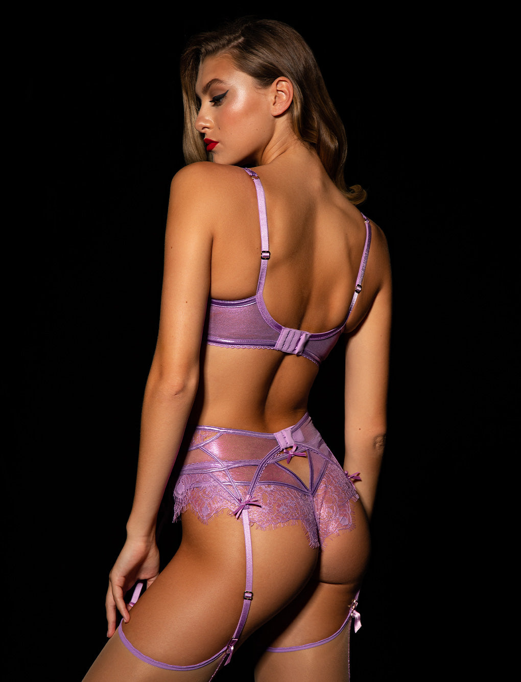 Roisin Lilac 3 Piece Set