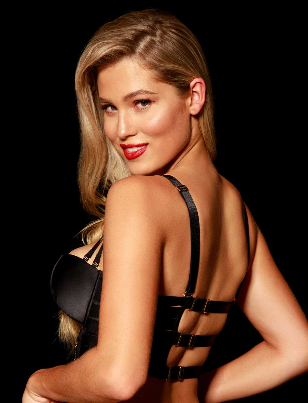 Stevie Black Push Up Lingerie Set | Shop  Lingerie Honey Birdette