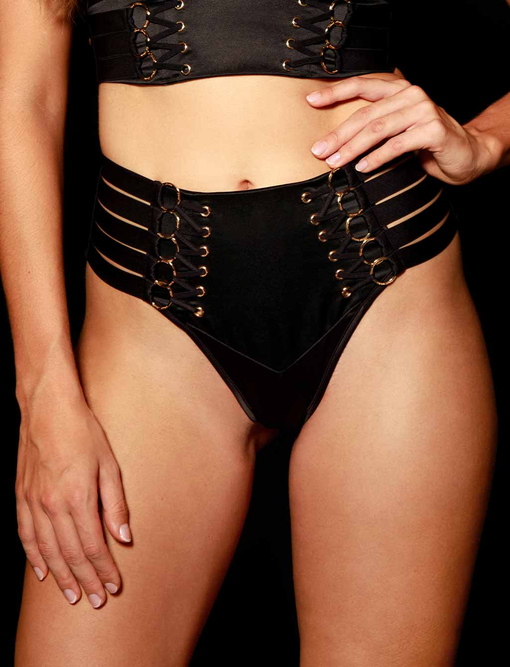 Stevie Black Brief | Shop  Lingerie Honey Birdette