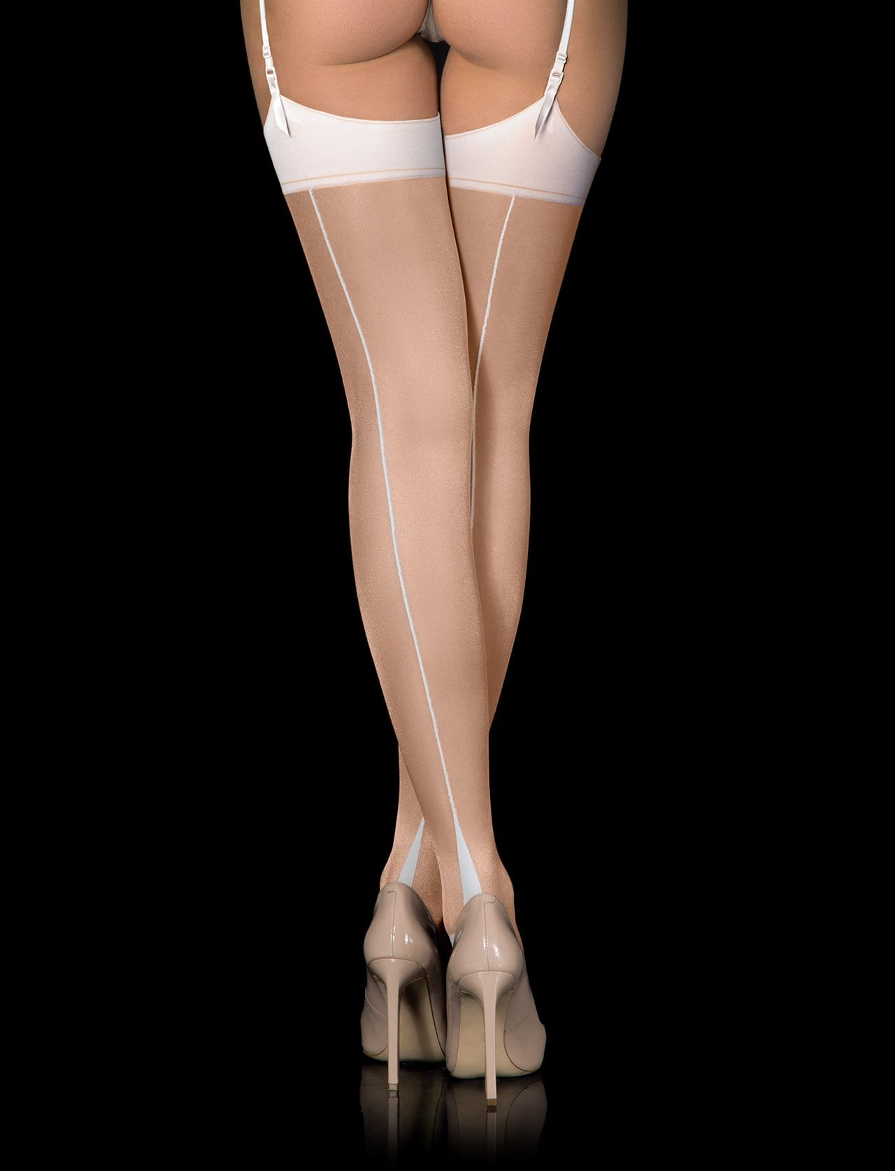 Classic Ivory Stockings