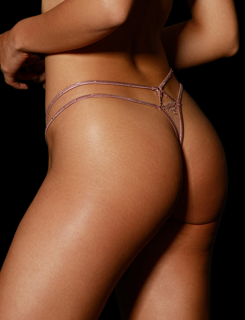 Zoe Thong Rose Gold