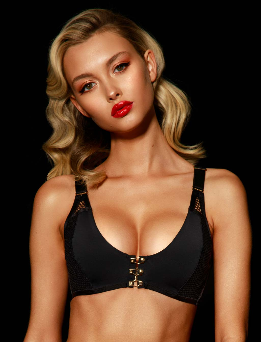 Tash Black Push Up Bra - Shop Bras | Honey Birdette