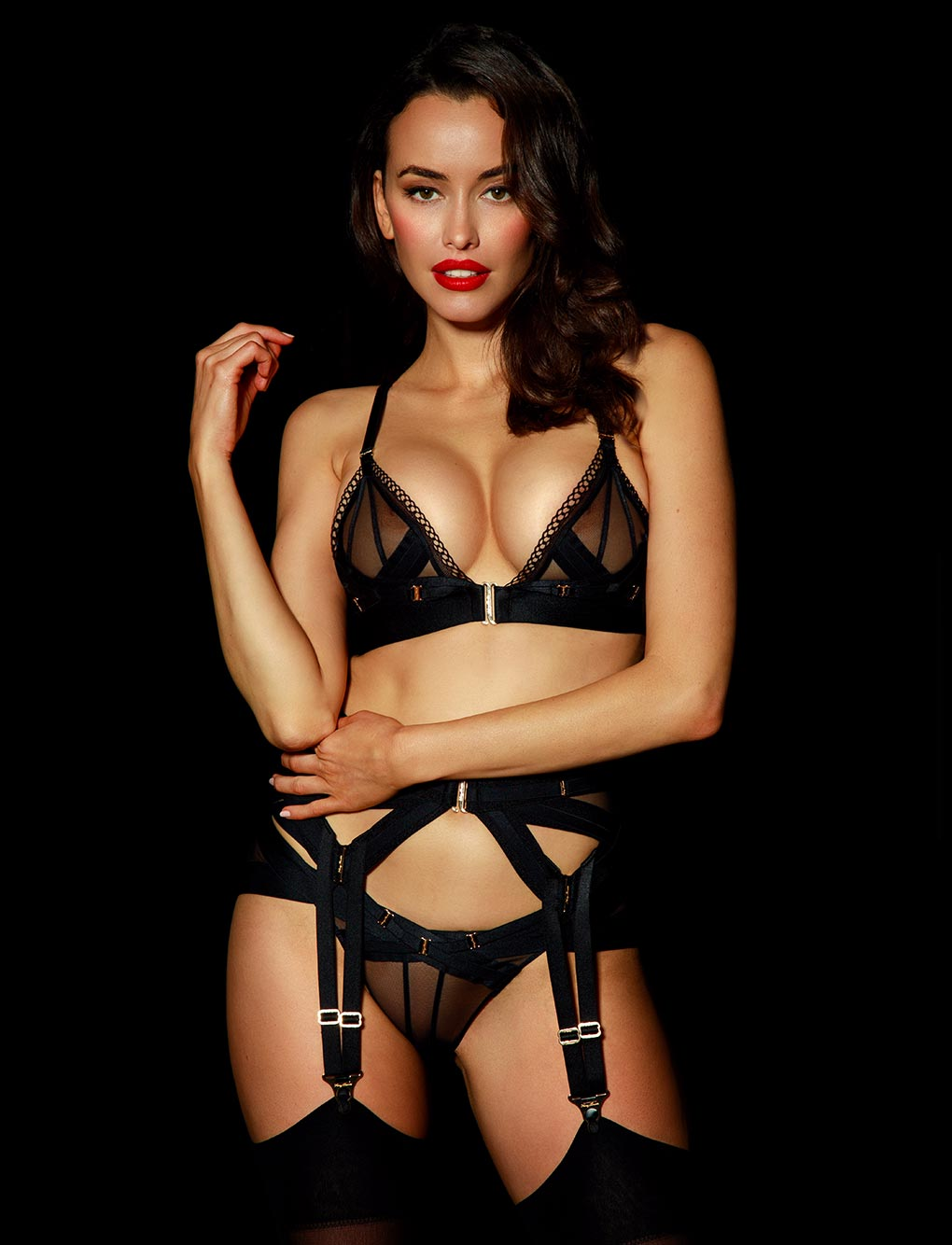 Vienna Lingerie Set | Shop  Lingerie Honey Birdette