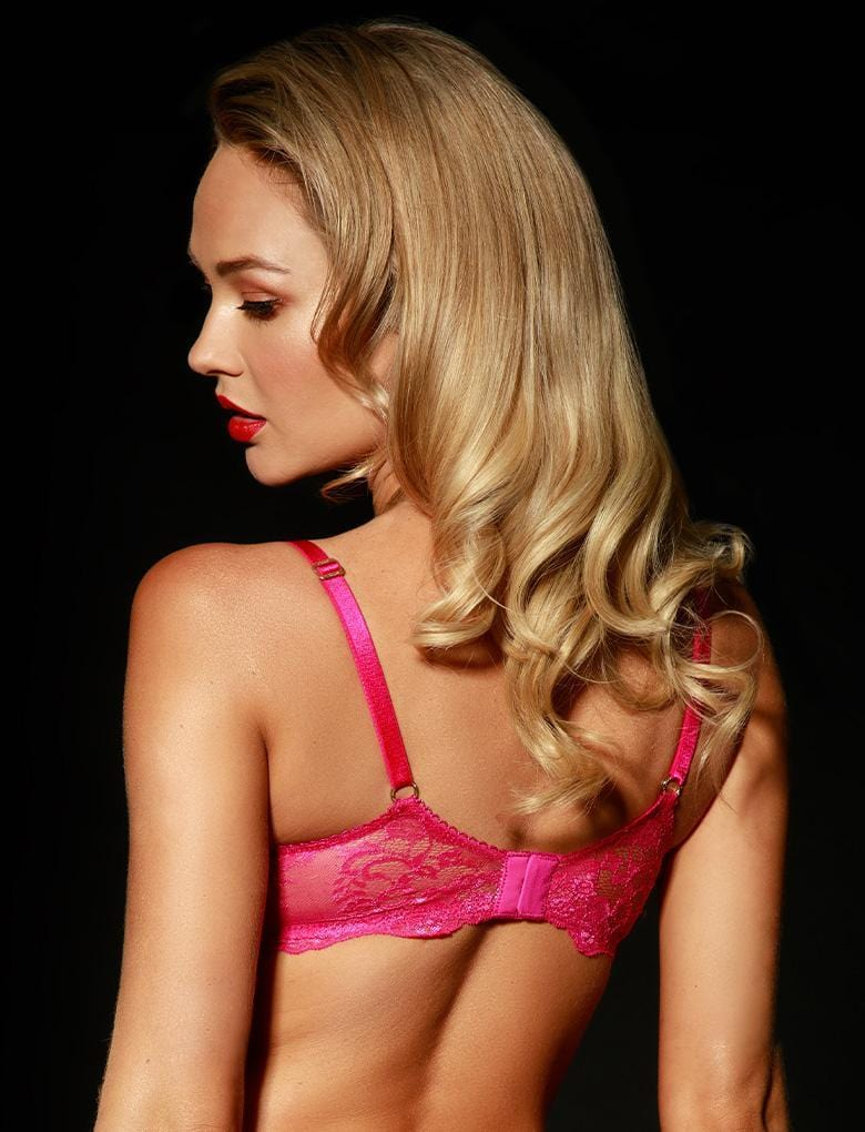Whitney Pink Bra & Brief Set