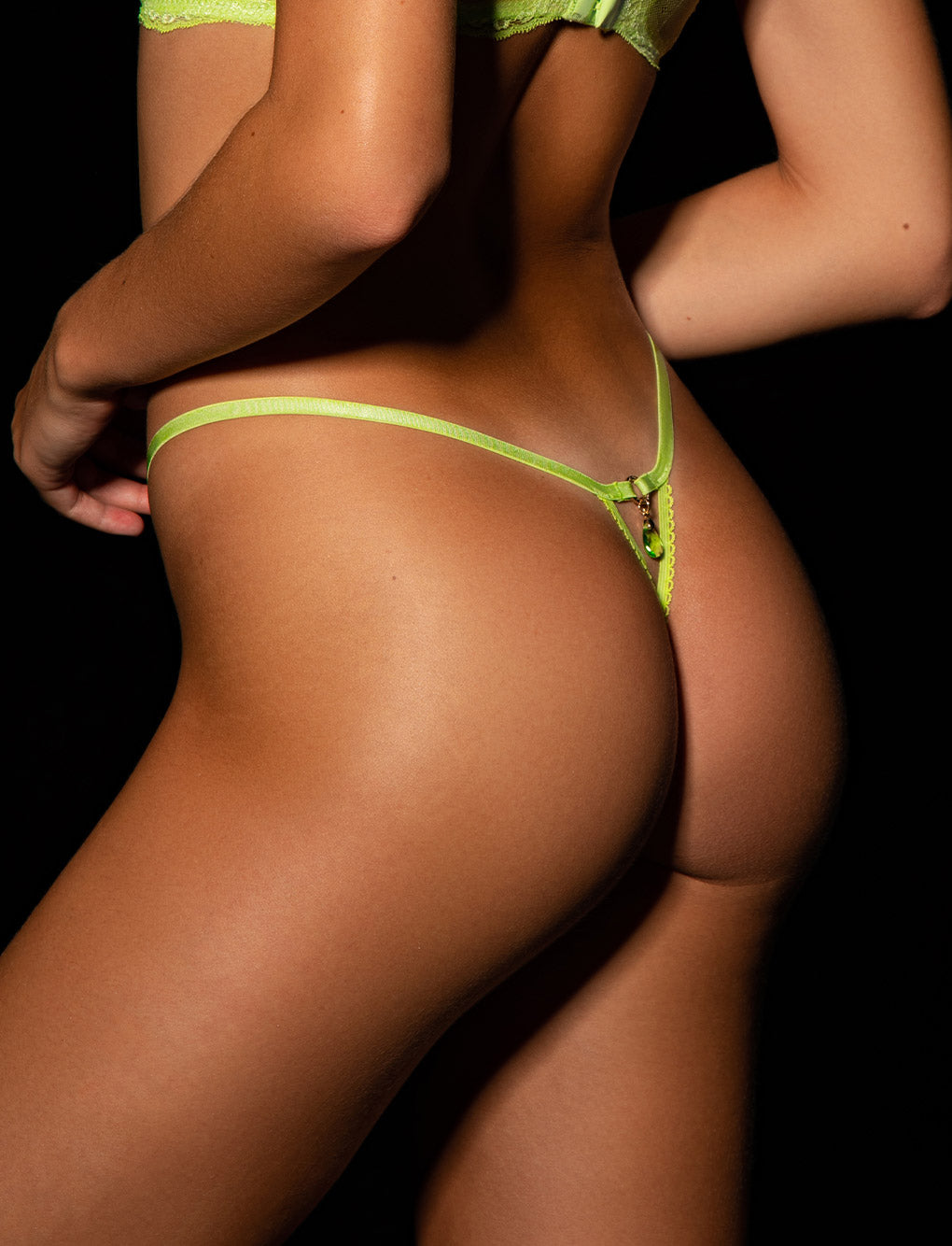 Whitney Apple Thong
