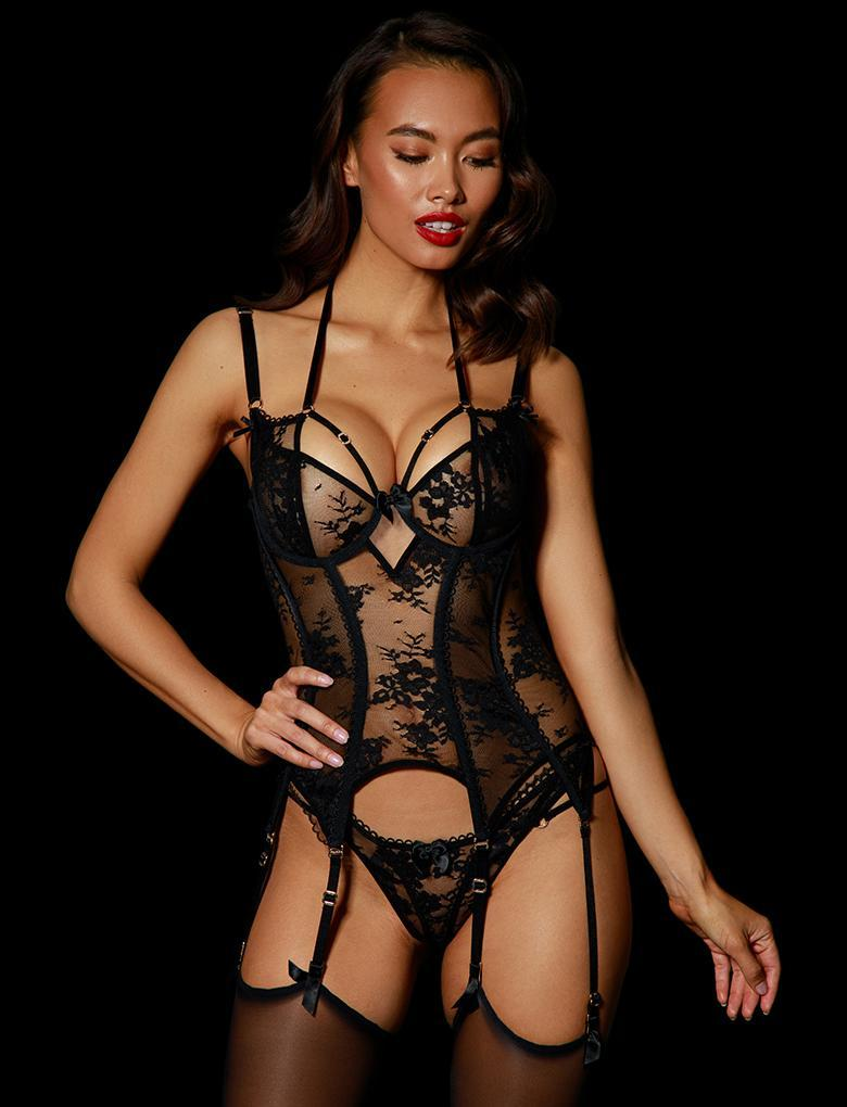 Antoinette Bustier - Shop Lingerie | Honey Birdette
