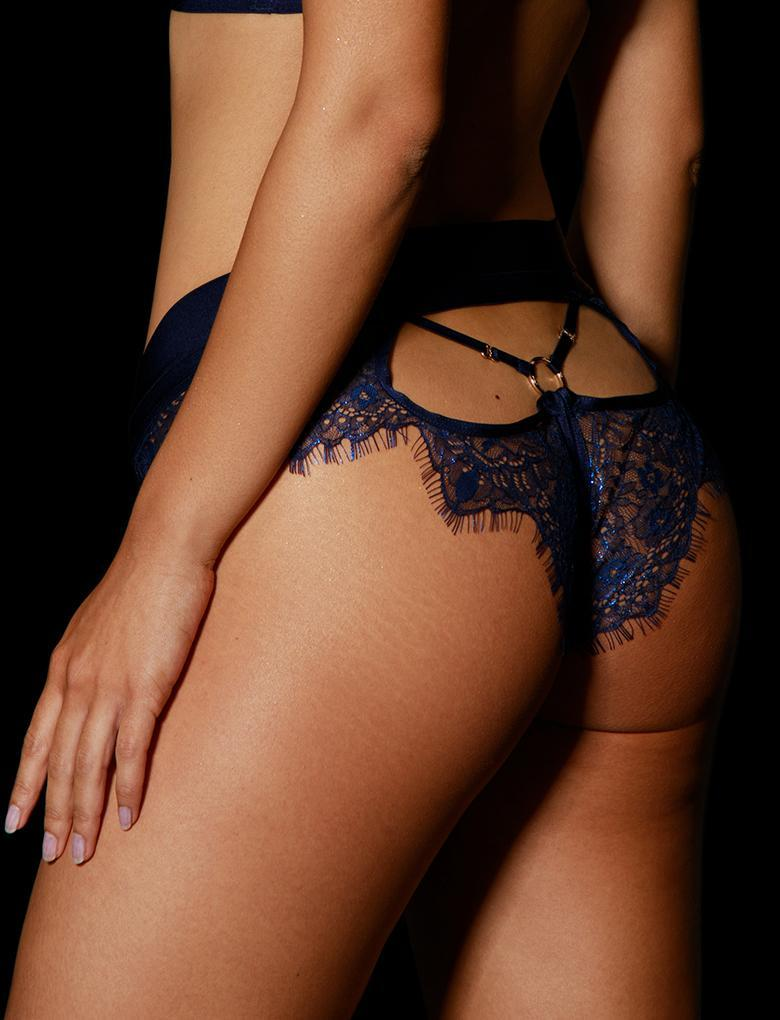 Belinda Navy Brief