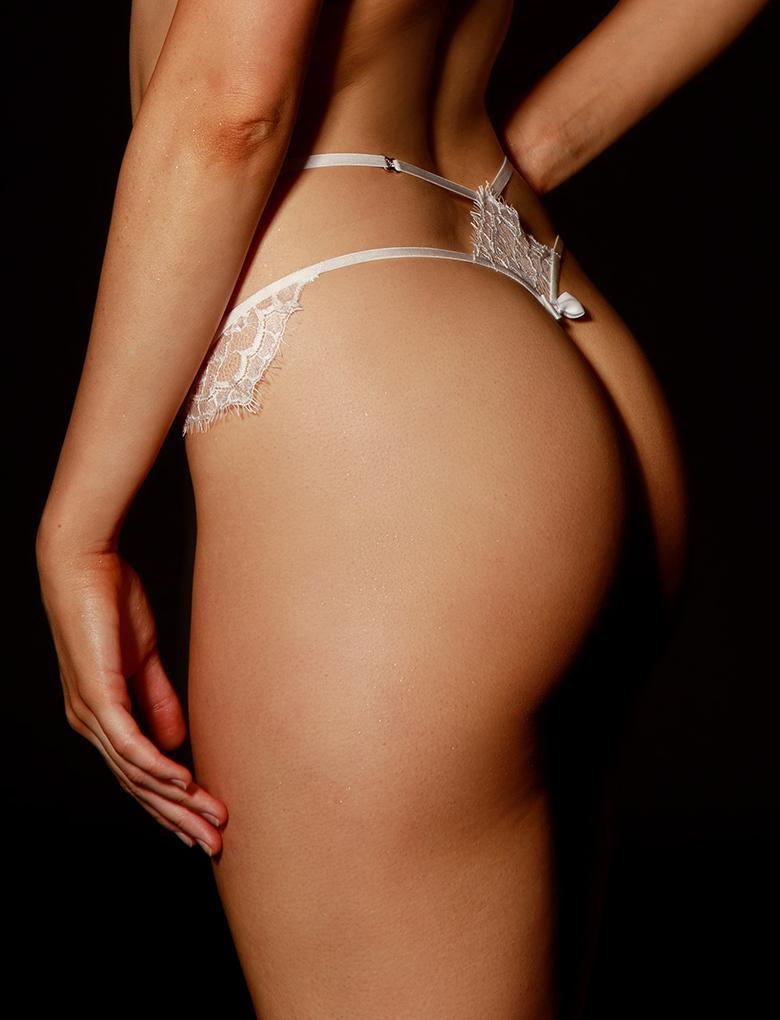 Candice Ivory Thong