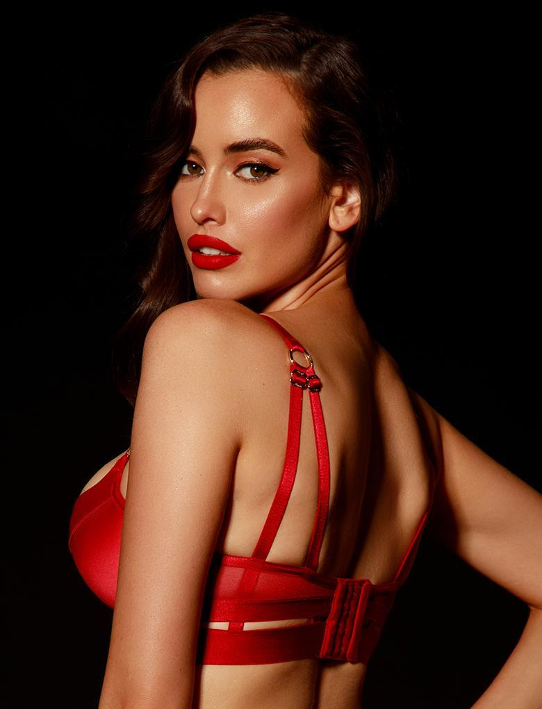 Elvis Red Bra