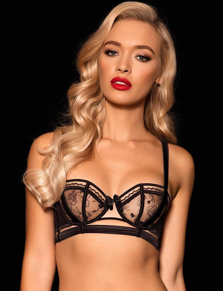 Kayla Lace Push Up Bra - Shop Lingerie | Honey Birdette