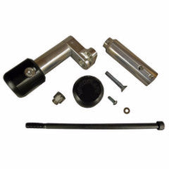 Kawasaki EX250 '08-12 Frame Slider - Under Bodywork Kit Assembly (includes 50-1099 pucks)
