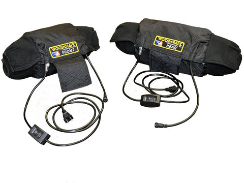 MADE IN USA Dual Temp Gen III Tire Warmers with soft carry case