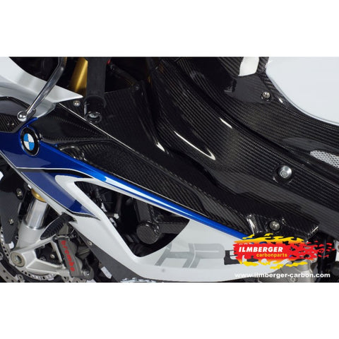 BMW S1000RR (2010-2014) / HP4  2012 - 2014  Left and Right Inner Side Panel Upper / Badge Holder Carbon