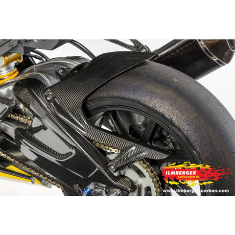 Rear Hugger with Chainguard (without ABS) - BMW S 1000 RR Stocksport/Racing