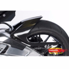 2009-18 S1000RR Carbon Fiber Rear Fender with Chain Guard