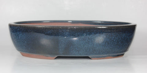 "Glazed Bonsai Pot 10.5""     (GA-135M)"