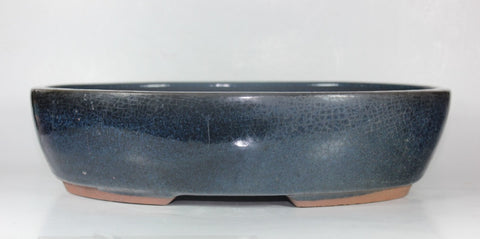 "Glazed Bonsai Pot 12""     (GA-135L)"