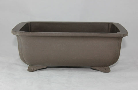 "Unglazed Bonsai Pot 9""     (UGHQZ9-01)"