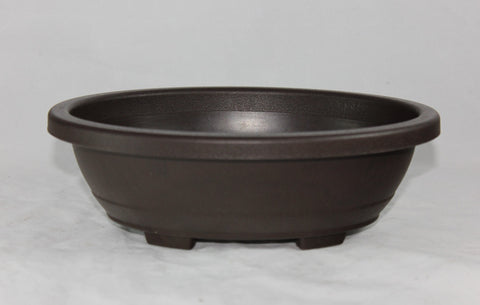 "Plastic Bonsai Pot 9.5"" Oval    (PL9O-01)"