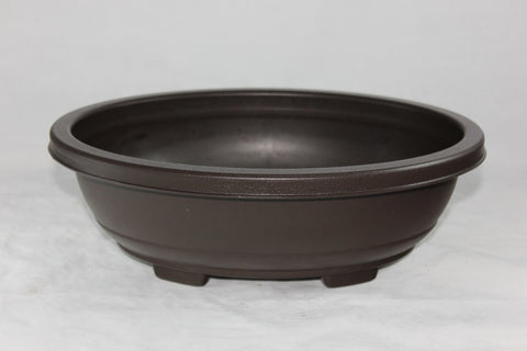 "Plastic Bonsai Pot 12"" Oval    (PL12O-01)"