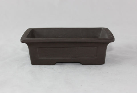 Unglazed Bonsai Pot 6""