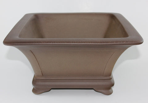"Unglazed Cascade Bonsai Pot 12""      (UGD-024)"