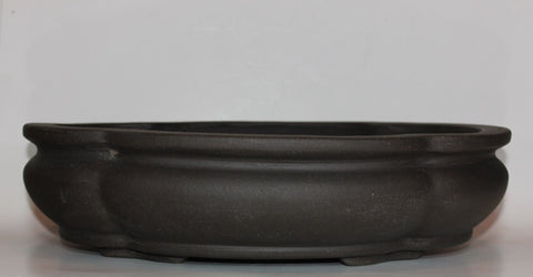Unglazed Bonsai Pot - Lotus - 16""