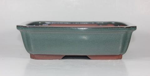Copy of Glazed Bonsai Pot 8.25 inch     (G8-059)
