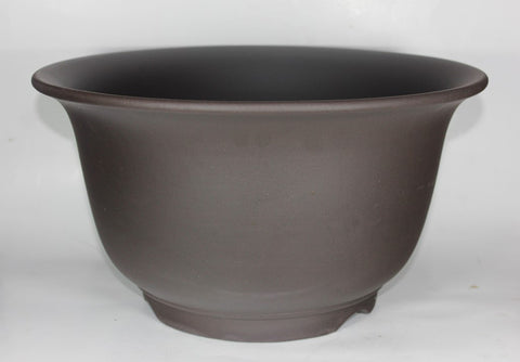 "Unglazed Bonsai Pot - Round - 14.5""  (UGL-029M)"