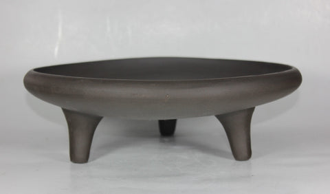 "Unglazed Bonsai Pot 11.75"" Round   (UGS-001)"