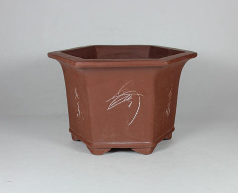 Unglazed Bonsai Pot      (UGMN-019S)