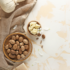 shea butter with seeds