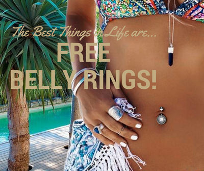 CHOOSE A FREE BELLY RING WITH EVERY ORDER