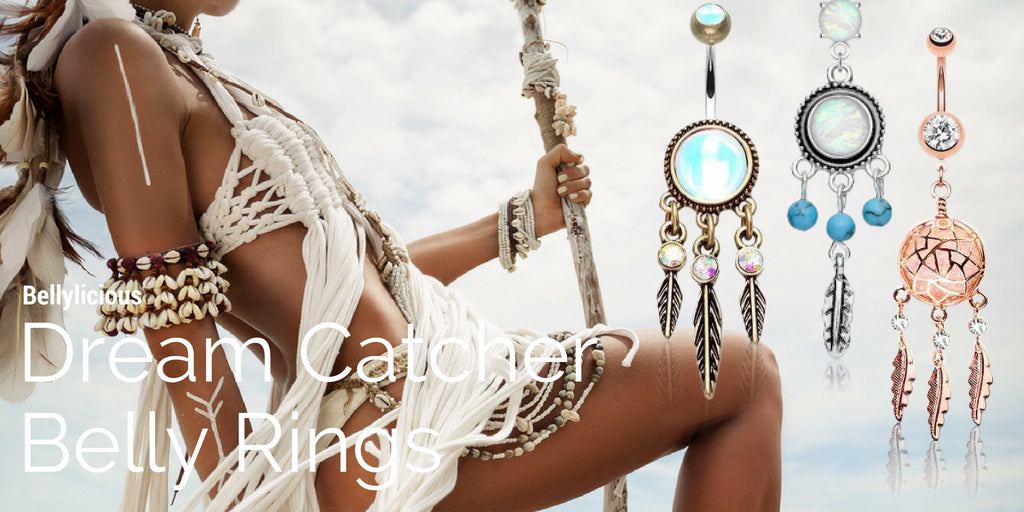 Dream Catcher Belly Rings