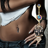 Animal and Creature Belly Rings.